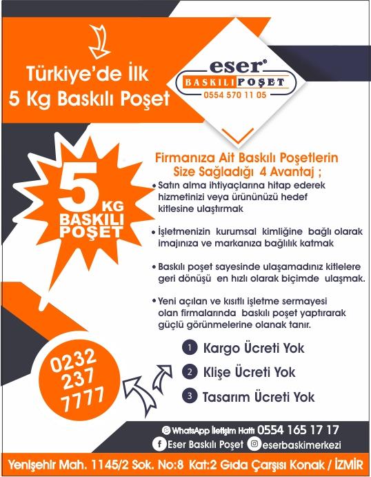 Yozgat'da Baskılı Poşet Yaptırmanın 4 Avantajı